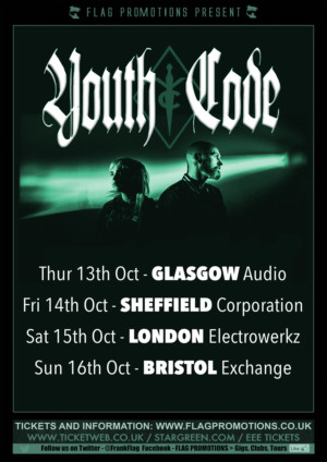 Youth Code 2016-10-13 Gig Flyer